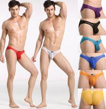 Details about Sexy Men's Sheer Mini Brief Bulge Pouch Underwear See Through Mesh Bikini Briefs(China (Mainland))