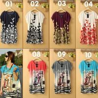 New Fashion Summer Tee Shirt Women Short Sleeve O-neck Loose Tops Woman Printed Ice Silk Plus Size Women Clothing 1372