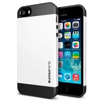 Hot Selling Spigen Hybrid Slim Armor SGP Case for iPhone 4 4S 5 5S 5G TPU and Plastic Hard Back Cover