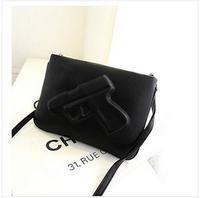 Sell like hot cakes!2014 package brand Pistol hand bag worn packet euramerican female bag bag free shipping