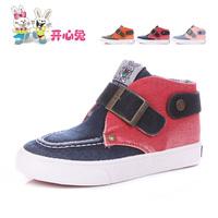 2014 spring child canvas shoes boys shoes female single shoes large child skateboarding shoes