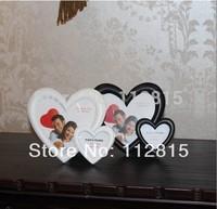 1 x Fashion  heart  Style Desktop Hang Photo Frame Home Decor Valentines Gift wedding gift