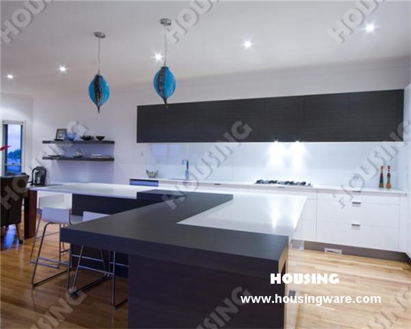 goedkope fantastisch design lak keukenkast voor modern appartement ...