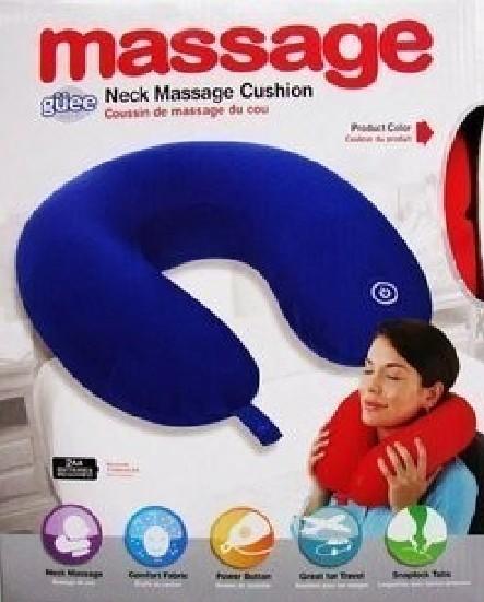 massagem descanso da massagem dispositivo massagem elétrica travesseiro massagem no pescoço almofada travesseiro de viagem(China (Mainland))
