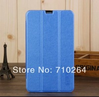 """2014 Hot Selling Original 7"""" Folding PU Leather Stand Case For Cube Talk 7X U51GT-W Tablet PC, Free Shipping"""