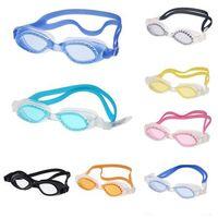 1pc Adult Non-Fogging Anti UV Swimming Goggles Swim Glasses Waterproof  Adjustable 8 colors 63478-63485