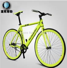 "TOP Quality 2014 Brand New Fixed Gear Bicicleta Bike Bicycles 26 ""  DIYCarbon Steel Fixed Gear Bi"