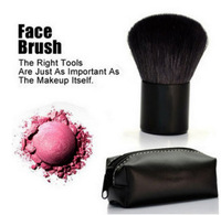 1Piece Makeup Brush #182 Fashion Special Hot Sale Pro Mushroom Blush Loose Power Make up Brush with Case Free Shipping