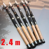 New Arrival Ocean boating fishing Rod 2.4 M   Apache Navigators carbon spinning telescopic fishing rods fishing pole 870175