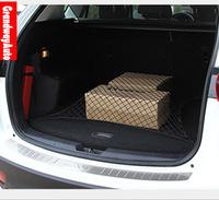 Car Rear Trunk Boot Tidy Bag Organiser Multi-useTools Trim mesh cover For Mazda CX-5 CX5 2012-present New Free Shipping
