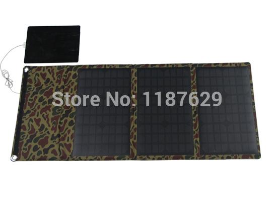 High efficency 30 watts fabric folding solar panel PET/PVC(China (Mainland))