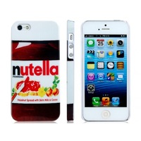 1PCS,Lovely Nutella Hard Back Cover Case Skin For iphone 4/4S 5/5S,free shipping