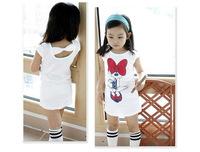 2-8yrs Girls Minnie mouse  t-shirts New 2014 Cartoon Kids T shirt Child Summer Clothes Fashion Brand Girls Clothing