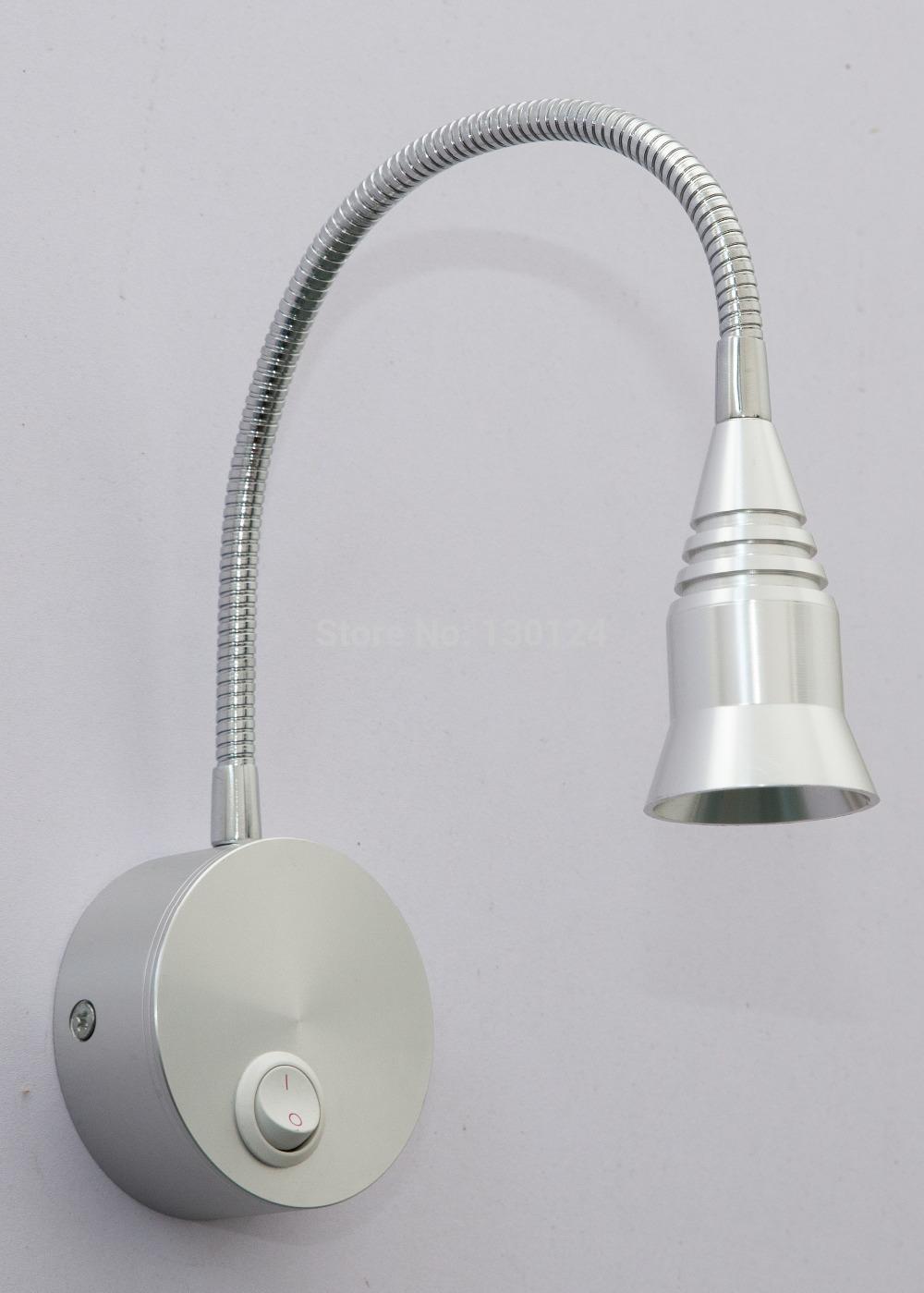 headboard mounted reading light