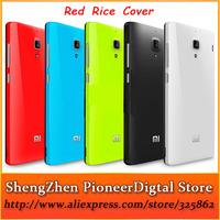 1pcs Retail 100% New Brand High Quality Original XiaoMi Red Rice Back Cover Case For HongMi