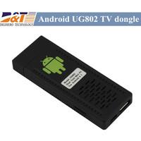 UG802 Rockchips RK3066 Dual core Android 4.1.1 Mini PC MK802 III Internet TV Smart Google  TV Box 1GB RAM 4GB ROM