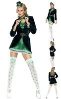 New arrive!!Free shipping magician costumes ,women Diva Miku cosplay Jazz dance dress ,halloween costumes for women