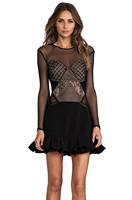 Wholesale, 2014 three floor style black women Dress  S/M