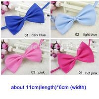 LJ002-10 colors Cute  Adjustable Pet Teddy Dog Cat Boy Kids Baby Bow Tie Necktie Bowtie Free shipping 20pcs/lot