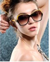 Free Shipping 2014 Fashion Frog Mirror Sunglasses Aviator glasses Vintage Eyeglasses glasses Women Polarized Lenses Sunglasses