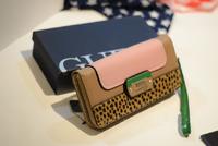H2057 Elegant Modern Fashion leopard patchwork Wallet Purse card Holder free shipping