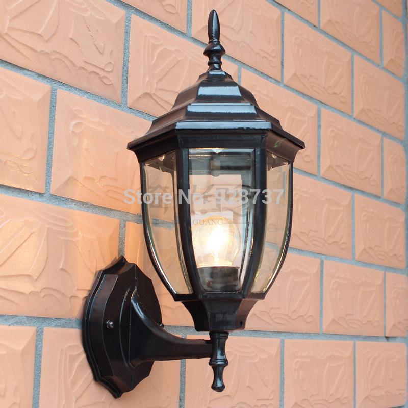 fashion tuin licht waterdichte outdoor wandlamp korte balkon lichten ...