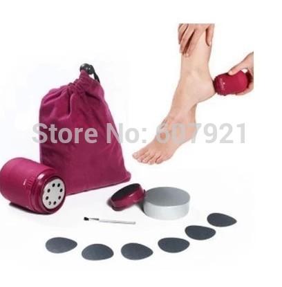 pedipro profissional elétrica girar moagem pé peeling, 30pcs/lot eletrônica pessoal pedicure pé massager(China (Mainland))