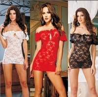 Free shipping floral sexy lingerie lace transparent sexy underwear set Sexy Underwear Sleepwear Sexy Costumes with G-string
