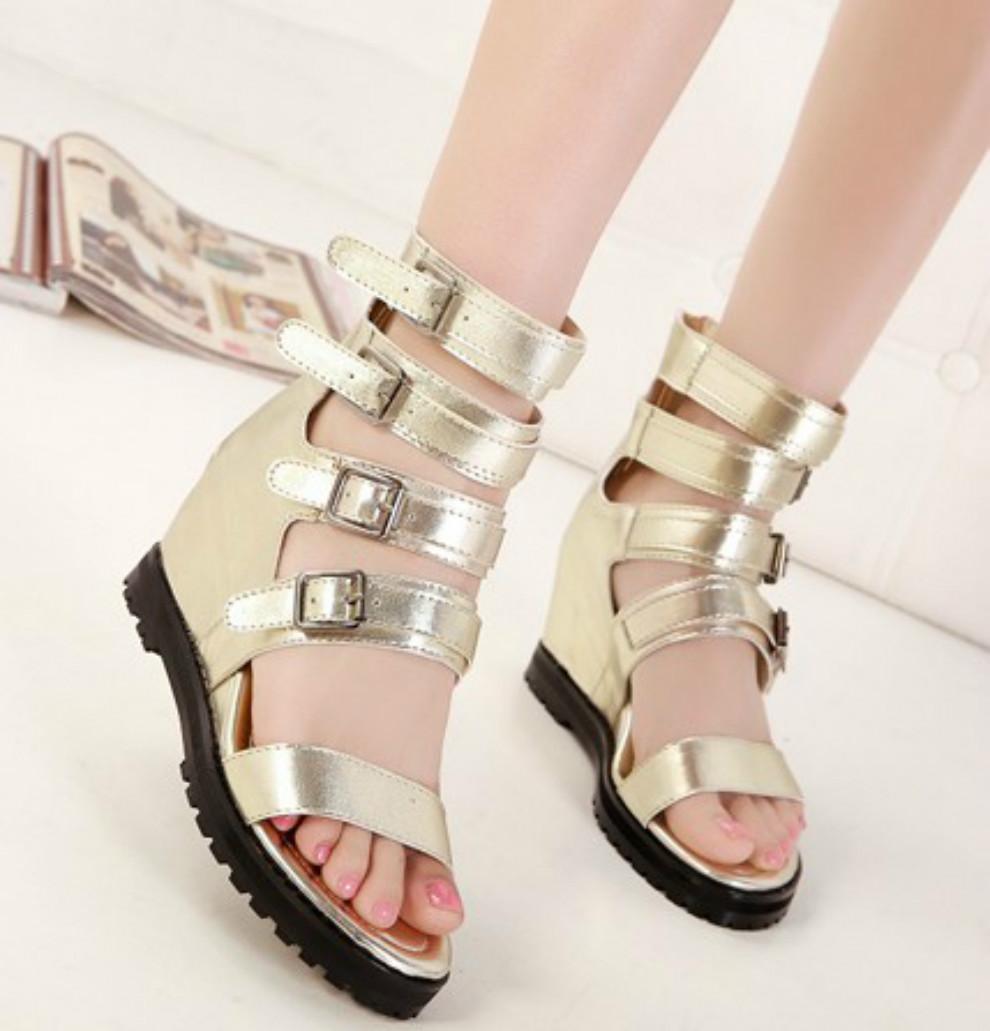 free shipping 2014 platform wedges platform shoes fashion