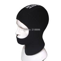 Slinx 1308 neoprene 5mm Diving Hood hood cap for scuba diving fishing warming tie hair cap warming crash proof protecter