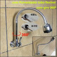 Brass Sink Flexible Pipe Kitchen Faucet Single Cold Kitchen Water Tap Wall  torneira cozinha grifo cocina torneira para cozinha