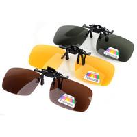 Genuine myopic vision goggles clip driver mirror polarizer tide cool sunglasses clip myopia sunglasses for men and women