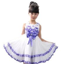 Varejo 2014 novo bebê meninas verão vestido de princesa roupas tamanho crianças meninas vestido tutu frete grátis 3 4 5 6 7 8 9 10 11 12(China (Mainland))