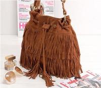 2014 New Fashion Women's Handbag  Womens Tassel Bag Louis.bag Messenger Bags Fringe Handbag
