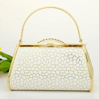 Work bag handbag ktv princess bag dj clock bag evening bag 90833 stone pattern