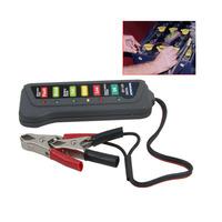 Tirol 12V Digital Battery / Alternator Tester with 6-LED Lights Display Car Diagnostic Tools