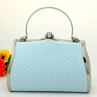 Large capacity ktv bag dj princess bridal bag evening bag banquet bag packet blue