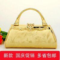 Handbag ktv princess bag dj clock bag evening bag 720 gold