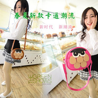 Bags 2014 owl bag cartoon mini one shoulder cross-body bag small female bags
