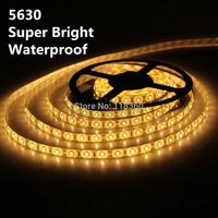 5630 LED SMD Strip Light Luminaria Tiras Iluminacion Luz 5M 300 LED Cold White Waterproof Super Bright 12V DC Free Shipping