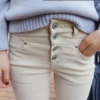 Women's 2014 spring jeans skinny pants high waist jeans female denim pencil pants