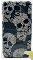 Retro Style Hard Plastic Skull Skin Case for Samsung galaxy s5