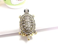 2014 Ancient Silver Plated  turtle Ring Fashion Restoring Ancient Ways Ring  Elements from Austrian Crystals Designed for Women