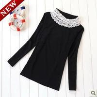 Free shipping Maternity clothing autumn top cotton turtleneck o-neck maternity basic shirt basic long-sleeve shirt
