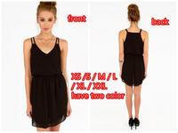 new spring 2014 women casual summer dress maix vintage party dress vestidos desigual dresses plus size (xs-xxl)