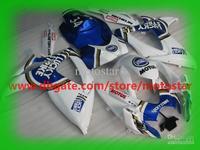 Wholesale - For SUZUKI GSXR 750 600 K6 2006 2007 OEM Injection molding GSX-R600 GSXR750 06 07 GSX blue lucky strike fairings kit