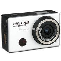 Free Shipping 5.0MP Full HD 1080P Underwater Action Sport Camera CAM WiFi DV Camcorder WDV5000 Waterproof camera Mini DV