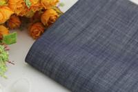Natural linen denim clothes bamboo hemp jeans outerwear fabric