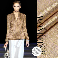 Silk gold bling fashion costumes clothes fabric