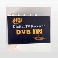 New 2014 DVB T2 Car HD Digital TV Tuner Receiver Box DVB-T2 MPEG4 / MPEG2 / H.264 Mobile Digital TV for Europe Russia Thai